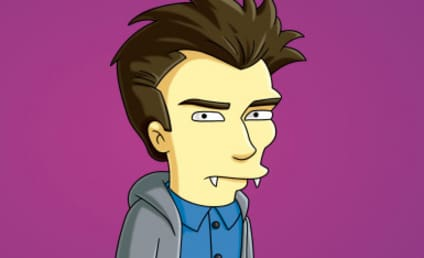 First Look: Daniel Radcliffe on The Simpsons