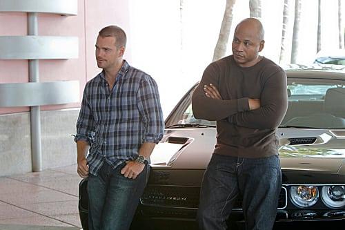 Partners Sam and Callen