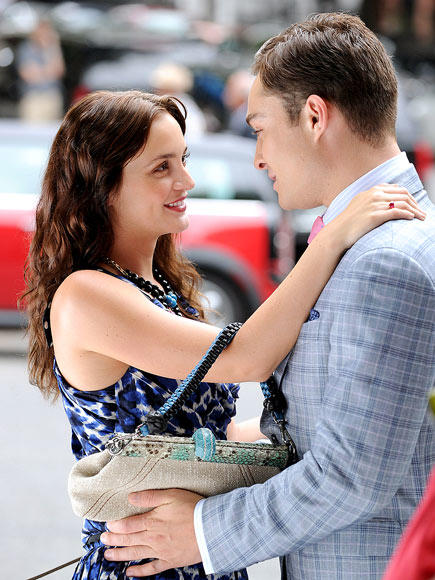 A Leighton Meester and Ed Westwick Picture