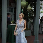 S in a Gown