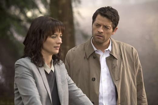 Hannah and Castiel - Supernatural Season 10 Episode 7