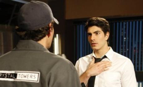 Brandon Routh on Chuck
