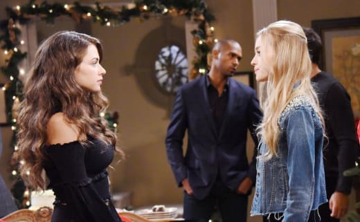 Ciara and Claire - Days of Our Lives