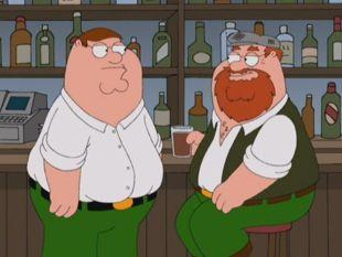 Peter and His Irish Father
