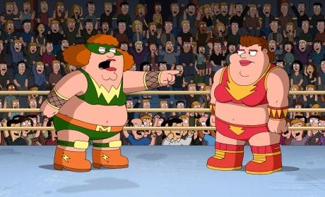 The Wrestling Match - Family Guy