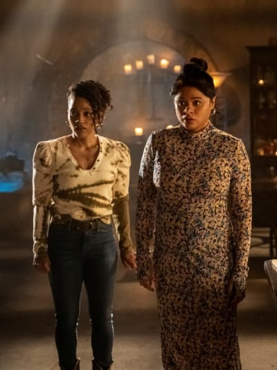 Ruby and Mel - Charmed (2018) Season 3 Episode 15 - Charmed (2018)