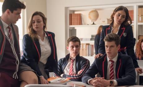 Elite Season 1 Cast