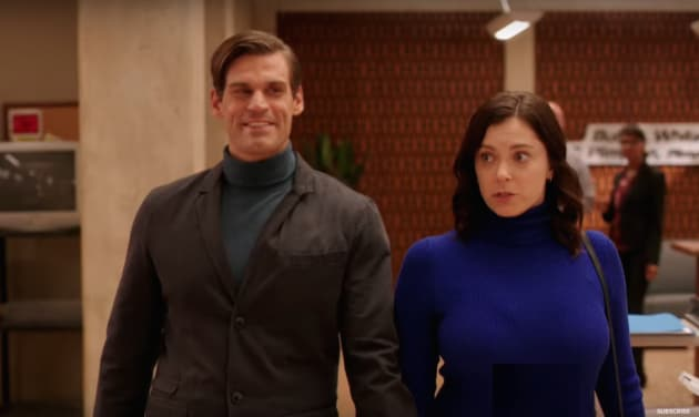 Trent Blackmails Rebecca - Crazy Ex-Girlfriend