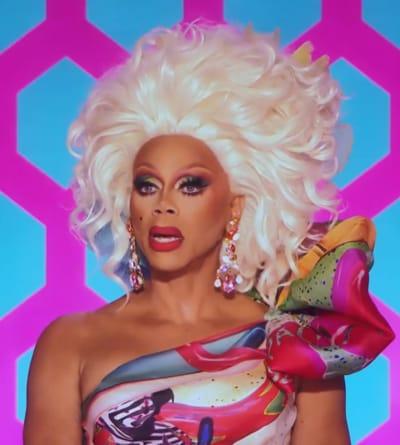 Zaldy Dress - RuPaul's Drag Race All Stars Season 6 Episode 7