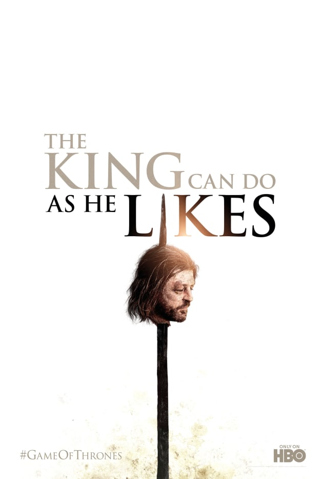 Game of Thrones Season Two Poster