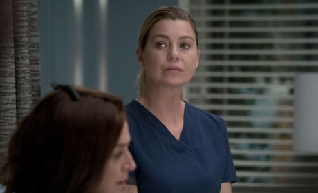Mer Is Concerned - Grey's Anatomy Season 14 Episode 4