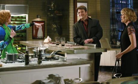 Martha Shares Stories - Castle Season 8 Episode 5