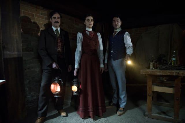 The haunted house houdini and doyle