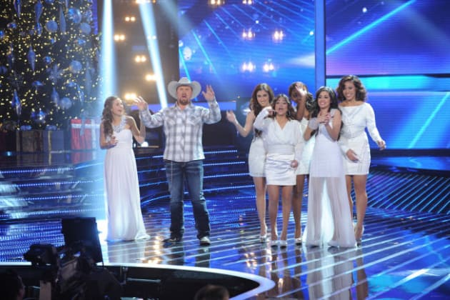 Carly Rose Sonenclar, Tate Stevens and Fifth Harmony