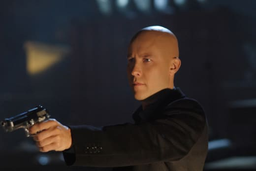Lux Luthor on Smallville