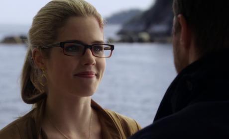 Emily Rickards as Felicity Smoak -- Arrow