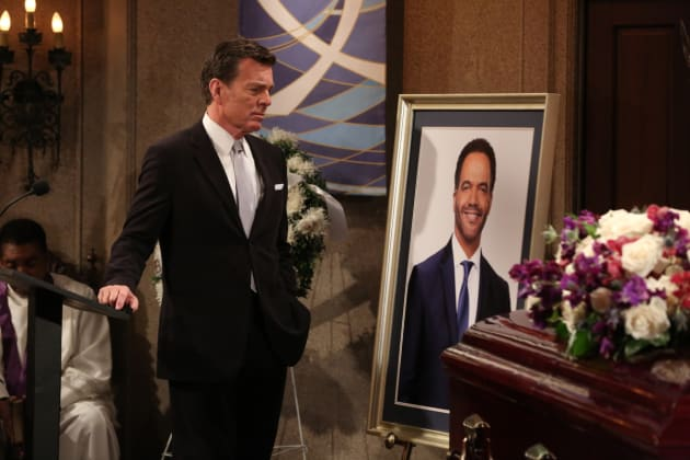 Jack Says Goodbye - The Young and the Restless