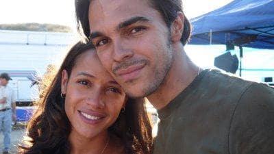 Dania Ramirez and Shalim Ortiz
