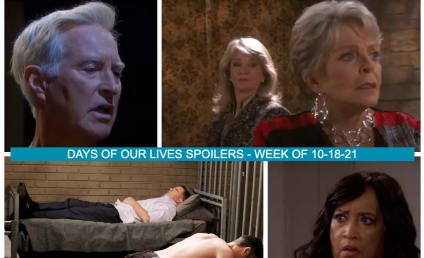 Days of Our Lives Spoilers for the Week of 10-18-21: Is John Catching On?
