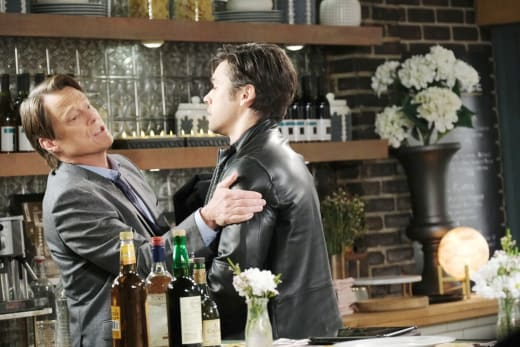 Xander Causes a Scene - Days of Our Lives