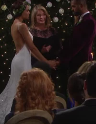 Lani and Eli Get Married - Days of Our Lives