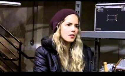 ARROW: Emily Bett Rickards on Felicity's Island Adventure, Big Stunts and More!