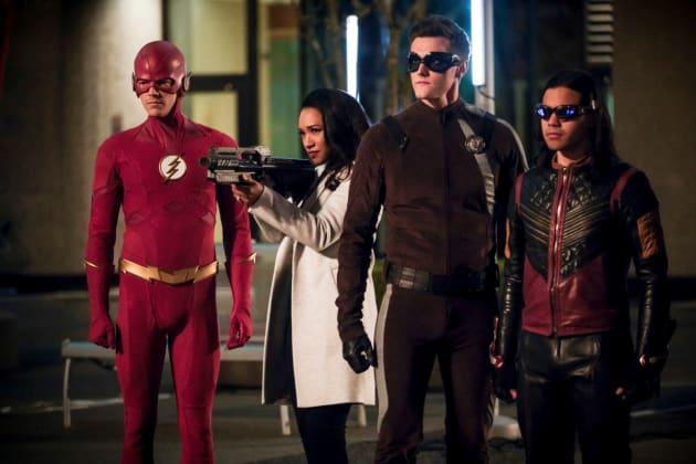 Team Flash Braces For Impact
