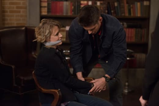 Bound and gagged - Supernatural Season 12 Episode 22
