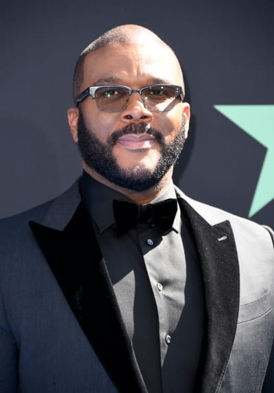 Tyler Perry attends the 2019 BET Awards