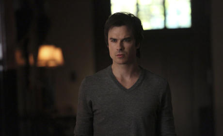 Up Close with Damon - The Vampire Diaries
