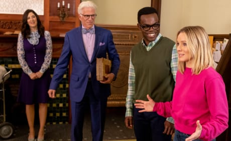 The Mailroom - The Good Place Season 3 Episode 11