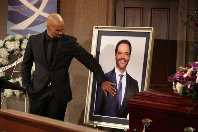 Malcolm Says Goodbye - The Young and the Restless