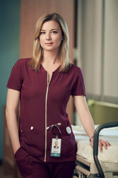 Emily VanCamp as Nicolette Nevin - The Resident