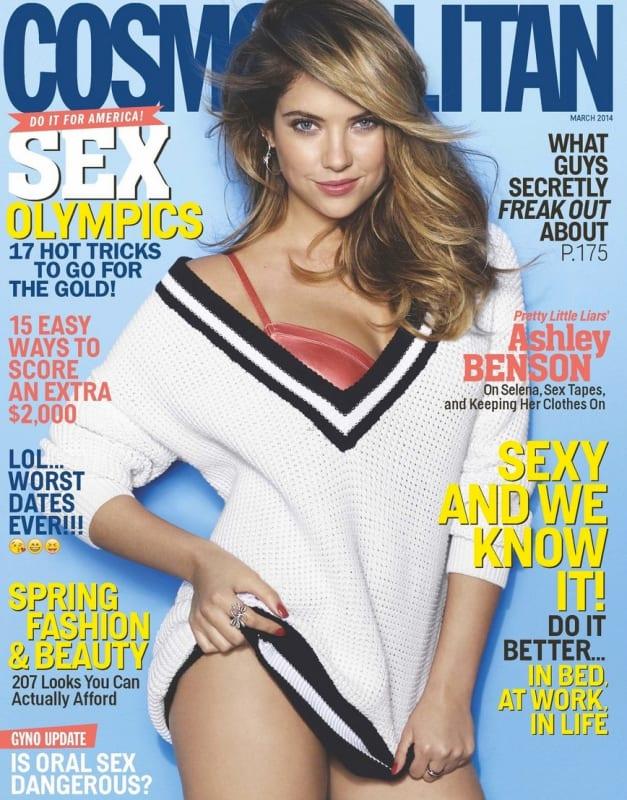 Ashley Benson Cosmo Cover