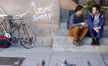 Klaine Finale Photo