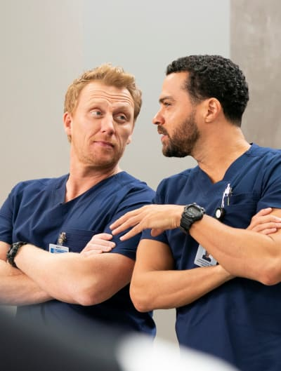 Hot Dads - Tall - Grey's Anatomy Season 15 Episode 13