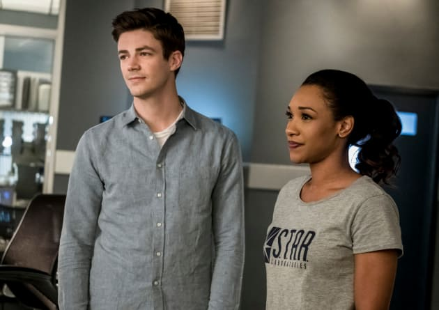 The Happy Couple - The Flash Season 4 Episode 15