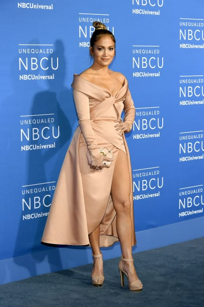 Jennifer Lopez Attends NBC Upfronts