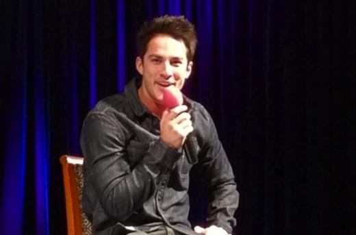 Michael Trevino at TVD Convention