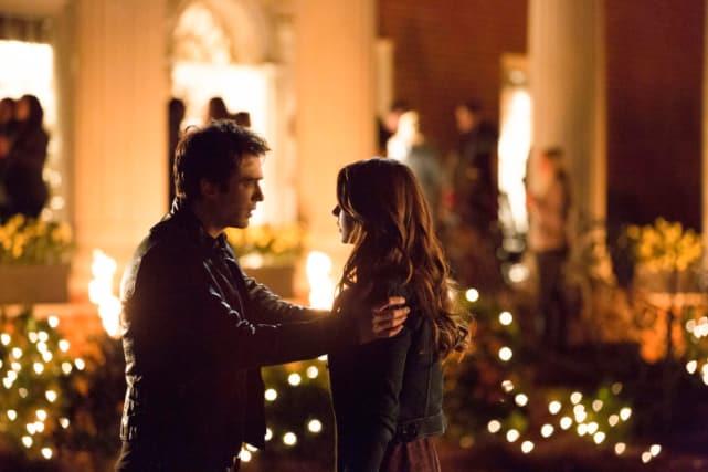 Damon Confronts Elena
