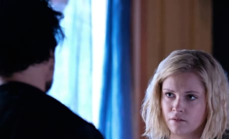 Clarke and Bellamy Together  - The 100 Season 6 Episode 2