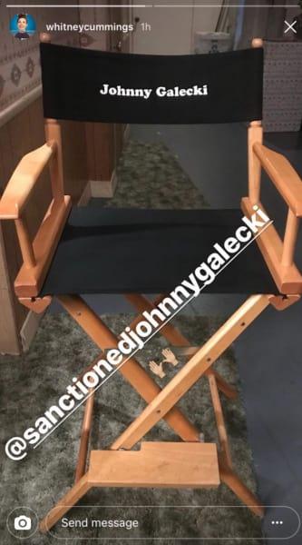 Johnny Galecki Instagram