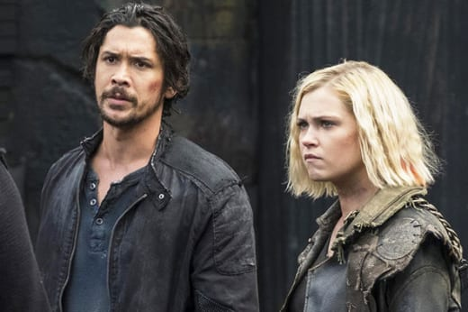 Bellamy and Clarke - The 100 Season 5 Episode 5