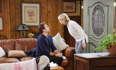 Scooter Blackmails Nicole - Days of Our Lives
