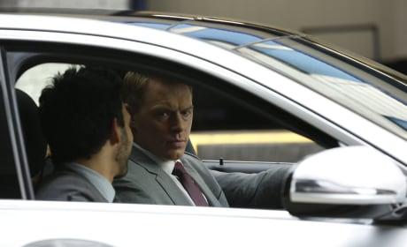 In the Car - The Blacklist Season 5 Episode 5
