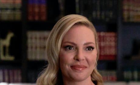 Samantha Grins  - Suits Season 9 Episode 9