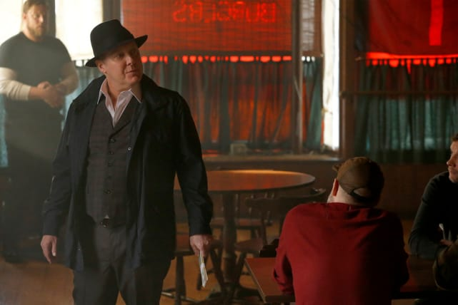 Red in Charge The Blacklist Season 5 Episode 17