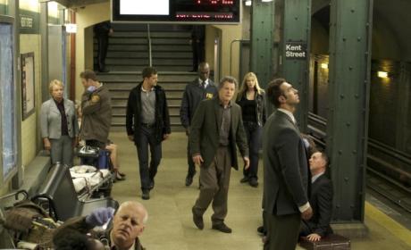 Subway Station Scene