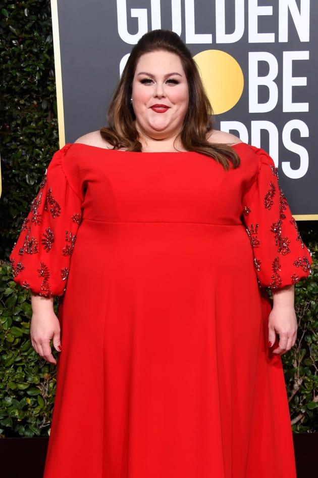 Chrissy Metz Attends Golden Globes