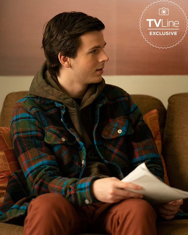 Chandler Riggs as PJ - A Million Little Things Season 1 Episode 16